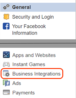 click business integrations