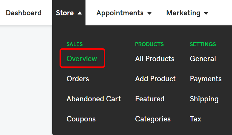 habilitar reseñas de la tienda en línea
