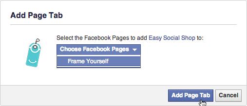 Haz clic en Agregar pestaña de página