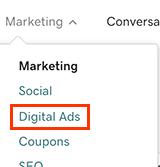 виберіть цифрову рекламу
