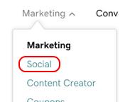 sélectionner social