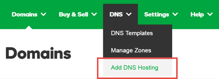 Add Off-Site DNS