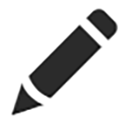 edit dns pencil icon