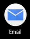 Коснитесь значка приложения Электронная почта