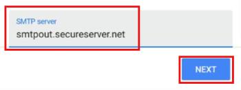 Виправте SMTP-сервер вихідної пошти