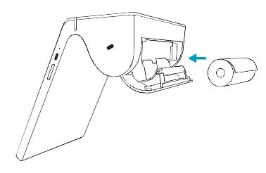 insert printer roll