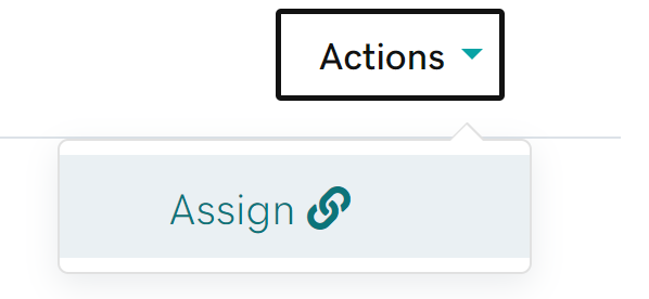 Action and Assign icons