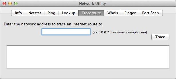 Image result for traceroute mac