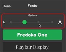 klik på en anden firkant for at ændre farve