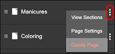 Haz clic en Eliminar página