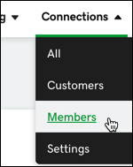 select connections-members
