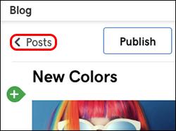 Haz clic en Publicaciones