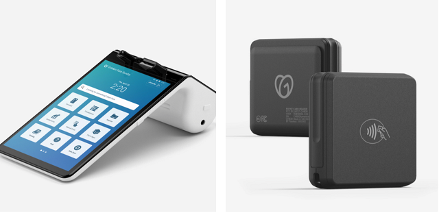 Images of the new Smart Terminal and Virtual Terminal point of sale devices.