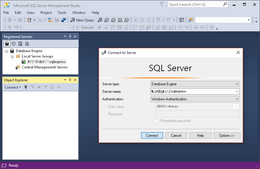 SQL Server連線