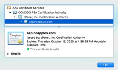 autossl sertifikası