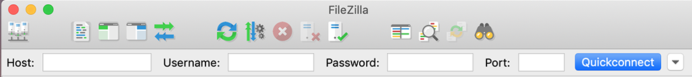 launch filezilla