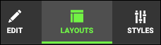 Haz clic en Diseño en la parte inferior de la pantalla