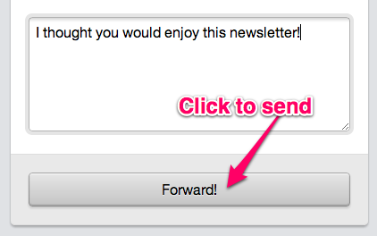 Add note and click forward to forward to a friend.