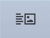 Text & Image module button