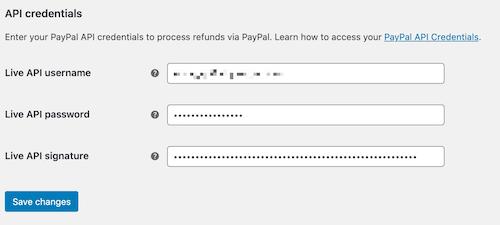 Zarządzaj danymi uwierzytelniającymi API PayPal