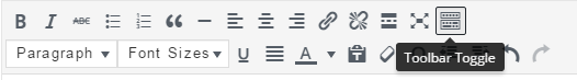 click button on the toolbar