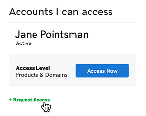 click request access