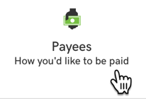 click payees