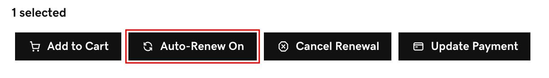 seleccionar renovación automática activada