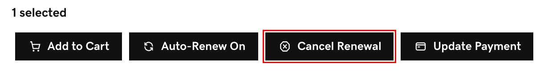 selecciona cancelar renovación