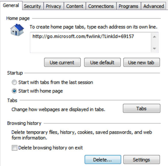 how to stop temporary files showing in explorer