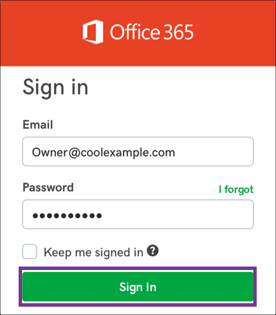 apple iphone office 365 email