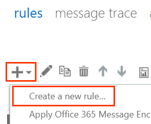 Create a new rule