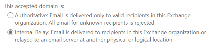 Internal Relay