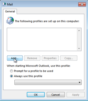 Manually add your email address to Outlook on Windows | Office 365