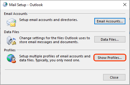 Manually add your email address to Outlook 2016 (Windows