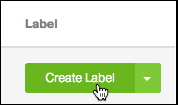 Choose an order and click Create Label