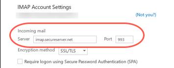 introduce servidor y puerto