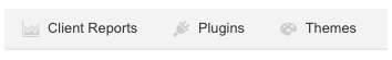 Plugins button
