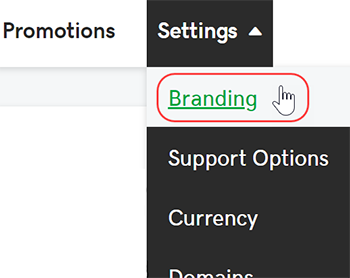 select branding