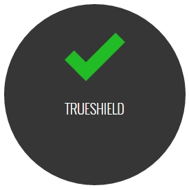TrueShield icon with green checkmark
