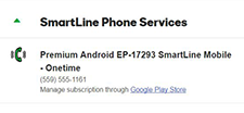 View smartline subscrptions