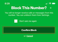 Confirm Block