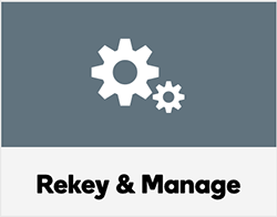 Rekey & Manage