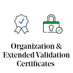 Organization & Extended Validation Certificates