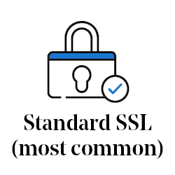 Standard SSL (most common)