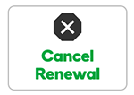 Cancel Renewal