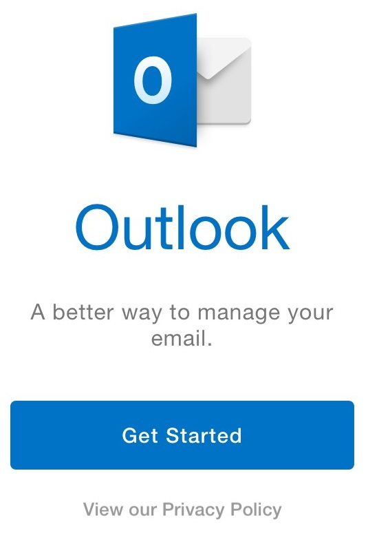 Outlook app on iPhone & iPad: Set up email | Workspace Email ...