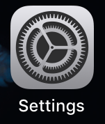 Tap Settings icon