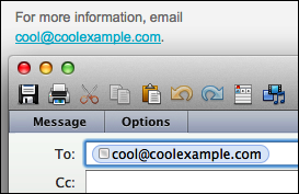 Enter an email address to link