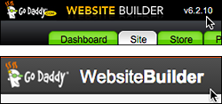 Look at the top of your Website Builder to see which version you're using.